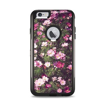 The Vintage Pink Floral Field Apple iPhone 6 Plus Otterbox Commuter Case Skin Set