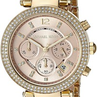Michael Kors Women's Parker Gold-Tone Watch MK6326