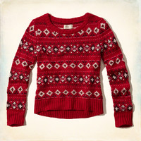 Festive Pattern Sweater