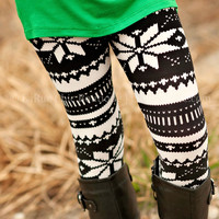 SNOWY NIGHT KIDS LEGGING