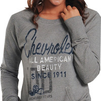 Chevrolet Ladies Centennial Sweatshirt-Chevy Mall