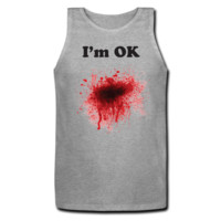 Walking Dead Cast Men's Tank Top - Men's Custom Tank Tops