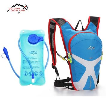 LOCAL LION 5L Hydration Water Bag Backpack + 1.5L Water Bag Running Outdoor Sports Cycling Bike Bags Camelback Water Bladder