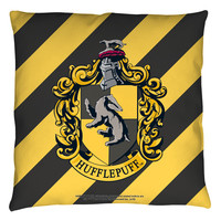 "Harry Potter ""HUFFLEPUFF"" 16x16 or 18x18 Throw Pillow"
