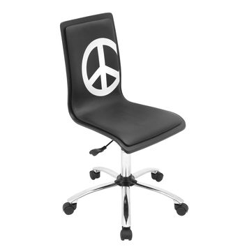 Lumisource Printed Office Chair in peace