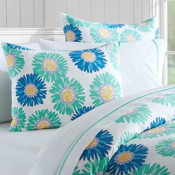 Bright Blossoms Duvet Cover + Sham