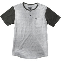 Heather Henley Short Sleeve Knit Shirt | RVCA