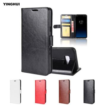 YINGHUI Hot Selling Vintage Wallet Leather Case for Samsung Galaxy S8 Plus G955F Coque Protect Flip Mobile Phone Shell Cover S8+
