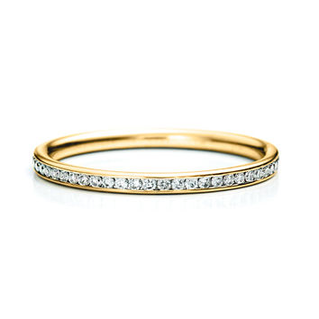 Skinny Channel Band 14K - Yellow Gold