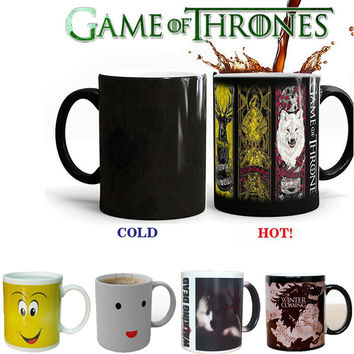 Smile Facial Coffee Mugs Mischief Game of Thrones The Walking Dead Mug Heat Coffee Cups and Mug