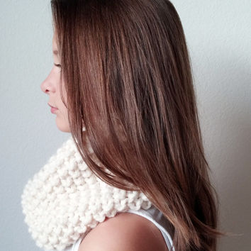 THE McCLOUD  -  Knit Chunky Cowl - Snood