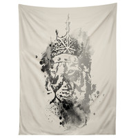Budi Kwan King Of The Jungle Mono Tapestry
