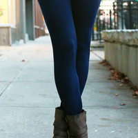Legs for Days Leggings - Navy