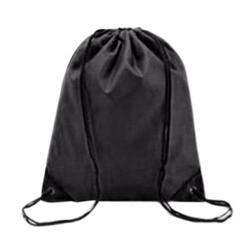 2017 Swimming Bags Drawstring Beach Bag Sport Gym Backpack