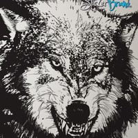 Vinyl Wall Decal Sticker Angry Wolf #789