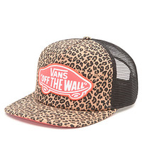 Vans Beach Girl Leopard Trucker Hat at PacSun.com