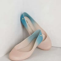 Anthropologie - Ombre Rain Flats