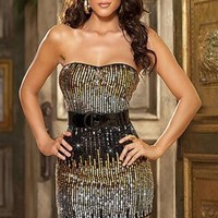 Showing Waist Off Shoulder Ladies Clubwear : Wholesaleclothing4u.com