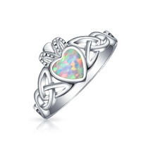 Bling Jewelry Claddagh Opal Ring