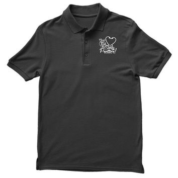 girls fish too only prettier Polo Shirt