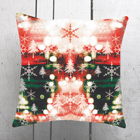 Free Shipping, Christmas, Decorative Pillow Cover Cashion Case Handmade
