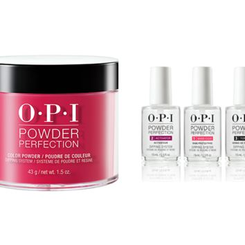 OPI - Dip Powder Combo - Liquid Set & Red Heads Ahead