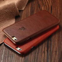 Genuine Leather Case for Apple iPhone 6 and 6 Plus
