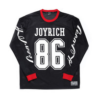 COCA-COLA MESH LONG SLEEVE TEE / BLACK - JOYRICH Store