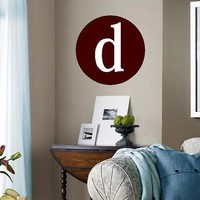 Personalized Monogram Initial Vinyl Lettering wall words graphics Home decor itswritteninvinyl
