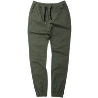 Sureshot Chino Jogger Pants Olive