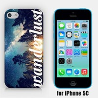 for iPhone 5C - Starry Night - Wanderlust - Travel - Ship from Vietnam - US Registered Brand