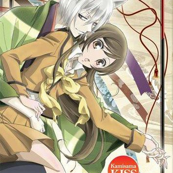Fabric Poster - Kamisama Kiss - New Tomoe & Nanami Key Art Wall ge79009