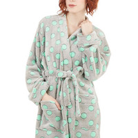 ModCloth Long Sleeve Relaxed to the Max Robe