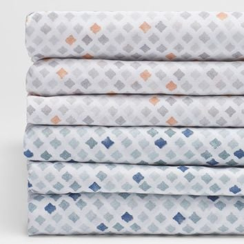 Watercolor Printed Diamond Organic Sheets