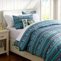 Surf Stripe Duvet Cover + Sham