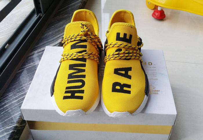 human race yellow