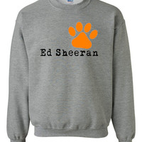 Ed Sheeran Paw Logo One Direction Unisex Sweater Sweat Shirt Sweatshirt