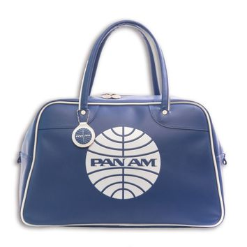 Pan Am Originals Luggage - Explorer Travel Bag. With Pan Am Airlines Classic Logo