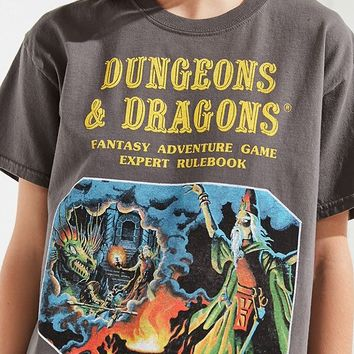 Dungeons & Dragons Tee   Urban Outfitters