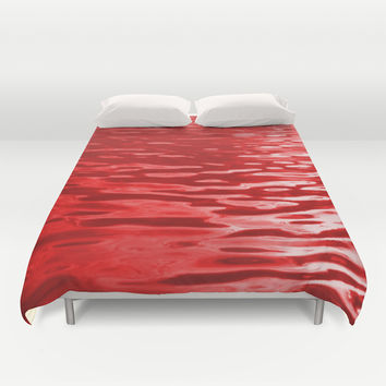 Bloody Waters Duvet Cover by Moonshine Paradise