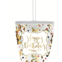 Happy Birthday 10 oz. Confetti Cup