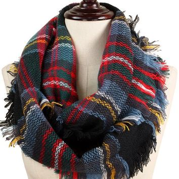 Blanket Infinity Scarf - Pick Your Colors