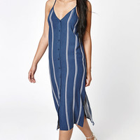 LA Hearts Button Front Midi Dress at PacSun.com