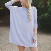 Boho Long Sleeve Tunic Dress