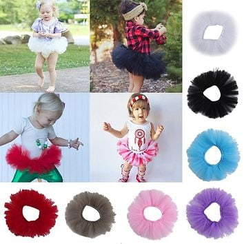 Cute Toddler Newborn Baby Girl Tutu Skirt Photo Prop Costume Outfit Dance skirt
