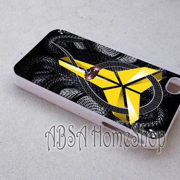 Kobe Bryant Black Mamba case for iPhone 4/4s/5/5s/5c/6/6+ case,iPod Touch 5th Case,Samsung Galaxy s3/s4/s5/s6Case, Sony Xperia Z3/4 case, LG G2/G3 case, HTC One M7/M8 case