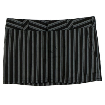 Dickies Girl - Pinstrip Mini Skirt