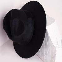ALAGA FEDORA IN BLACK