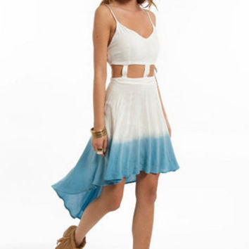 Reverse Little Dipper Dye Dress $70