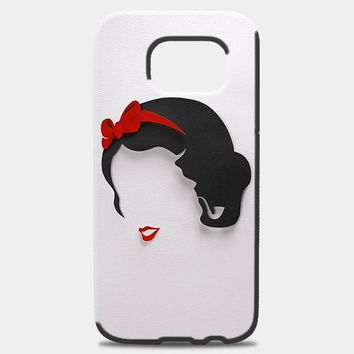Snow White Princess Silhouette Samsung Galaxy Note 8 Case | casescraft